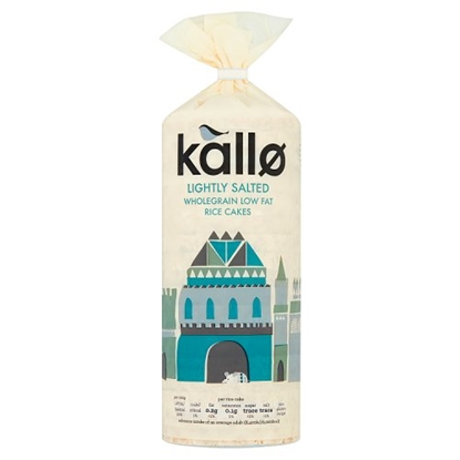 Picture of KALLO RICE CAKES 130G X 12