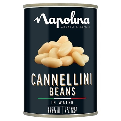 Picture of NAPOLINA CANELLINI BEANS 400G X 12