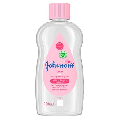 Picture of JOHNSONS BABY OIL 200MLS X 6