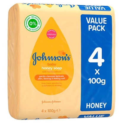 Picture of JOHNSONS BABY SOAP X 4PK X 9