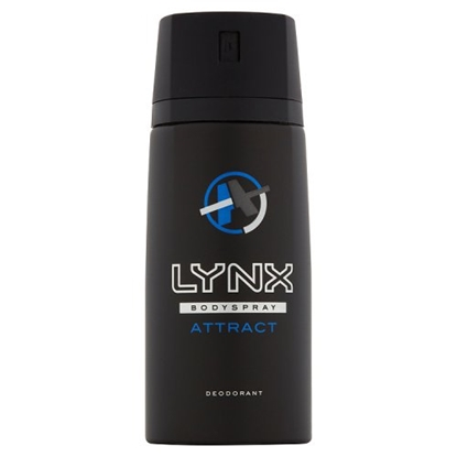 Picture of LYNX  ATTRACT BODY SPRAY (BLACK)  150ML x 6