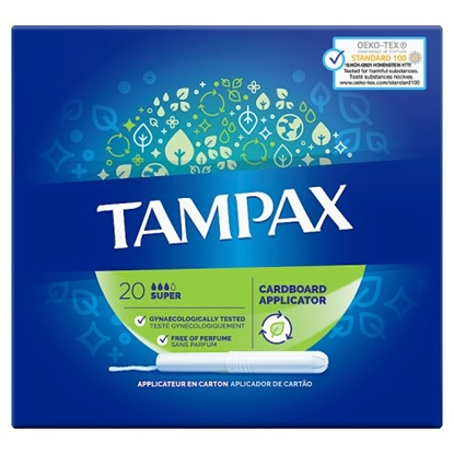 Picture of TAMPAX SUPER 20s x 8