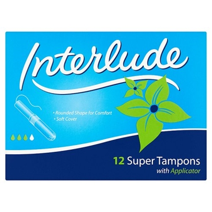 Picture of INTERLUDE ULTRA SUPER TAMPONS 12PK X12