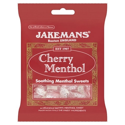 Picture of JAKEMANS CHERRY LOZENGE BAGS X 10