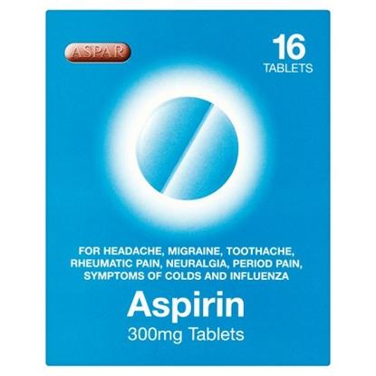 Picture of ASPAR ASPIRIN 16'S X 12