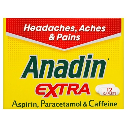 Picture of ANADIN EXTRA 8s X 12