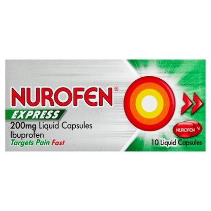 Picture of NUROFEN EXPRESS LIQ.CAPS 10sX6