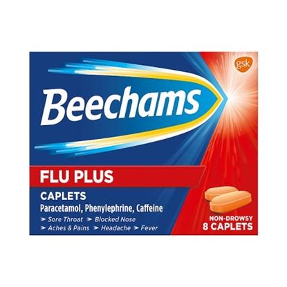 Picture of BEECHAMS FLUPLUS CAPLET 8S X 6