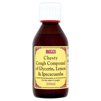 Picture of BELLS CHESTY COUGH 200ML X 6
