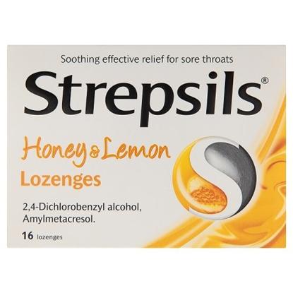 Picture of STREPSILS HONEY & LEMON 16s X 6