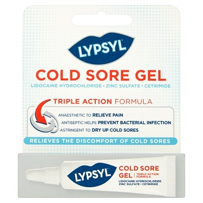 Picture of LYPSYL COLD SORE GEL 3G X 6