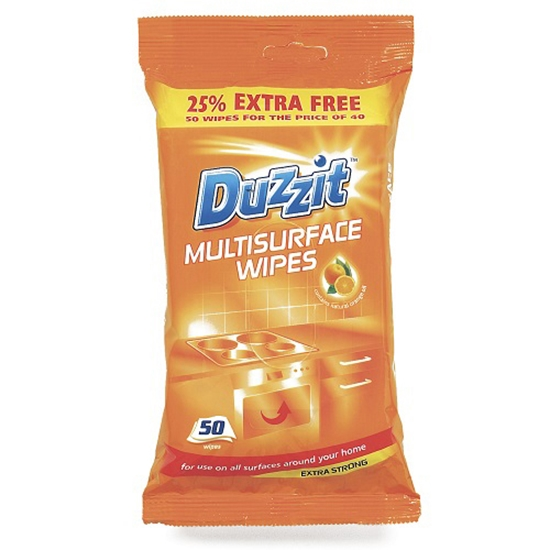 Picture of DUZZIT MULTI SURFACE WIPES 50PK X 12