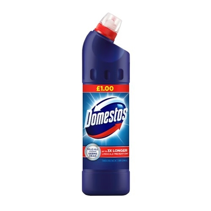 Picture of PM £1 DOMESTOS BLEACH 750MLS x 9