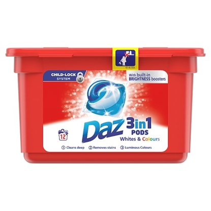 Picture of PM £2.49 DAZ **PODS** 12 WASH X 6