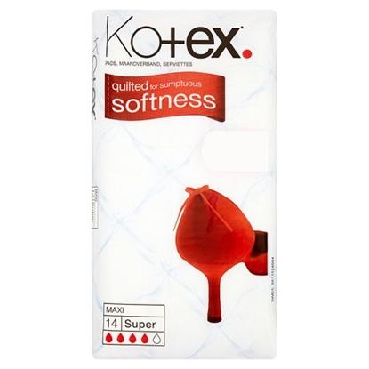 Picture of PM £1.15 KOTEX MAXI SUPER 14S X 12