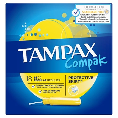 Picture of TAMPAX COMPACT REGULAR 18s X 6