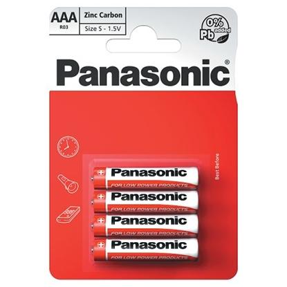 Picture of PANASONIC ZINC *AAA* 4S X 12
