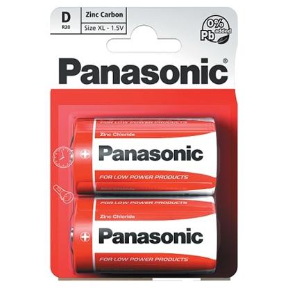Picture of PANASONIC ZINC *D* 2S X 12