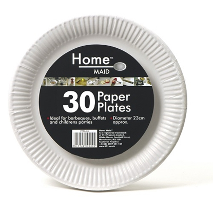 Picture of PAPER PLATES 9inch 30PK X 24