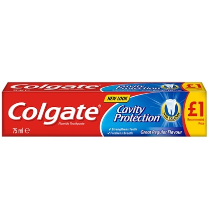 Picture of PM £1 COLGATE TOOTHPASTE CAVITY PROTECT 75ML X 12