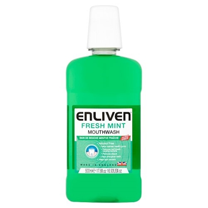 Picture of ENLIVEN MOUTHWASH 500MLS x 8