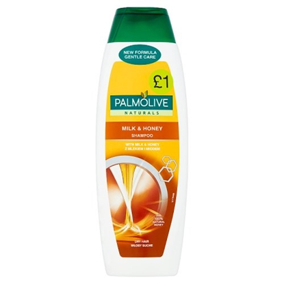 Picture of PM £1 PALMOLIVE SHAMPOO MILK & HONEY 350ML X 6