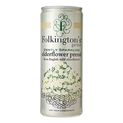 Picture of FOLKINGTONS ELDERFLOWER *CANS* x 12