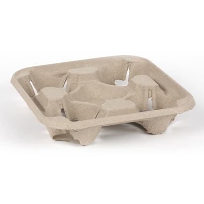 Picture of 4 CUP CARRY TRAYS X 180