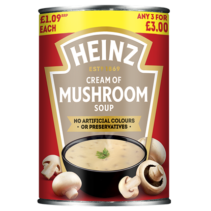 Picture of PM £1.09/3 FOR £3 HEINZ MUSHROOM SOUP X 12