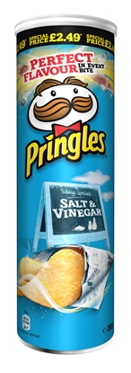 Picture of PM £2.99 PRINGLES SALT & VINEGAR 200G X 6