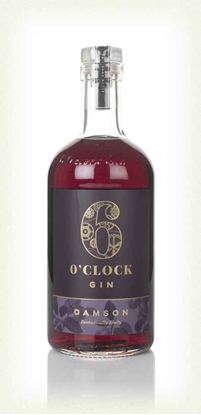 Picture of 6 O'CLOCK DAMSON GIN 40% 70CL X 6