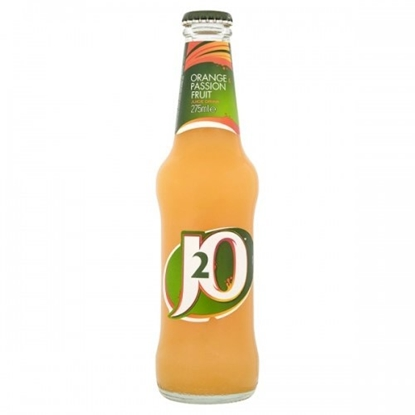 Picture of J2O ORANGE & PASSIONFRUIT *275ML* x 24
