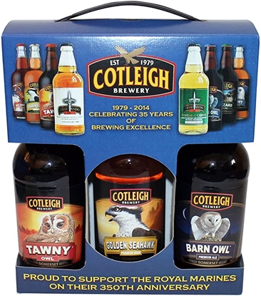 Picture of COTLEIGH BEER 3 BOTTLE GIFT x5