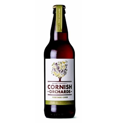 Picture of CORNISH ORCHARD HERTAGE CIDER 500MLx12
