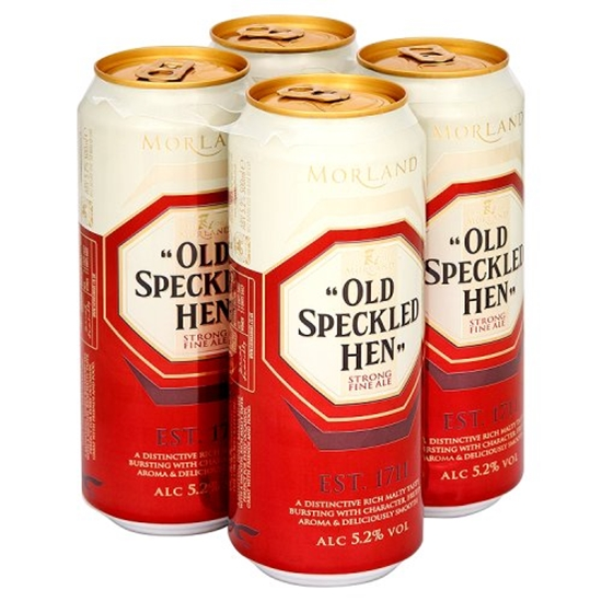 Picture of SPECKLED HEN *CANS* 500ML 4PKx6