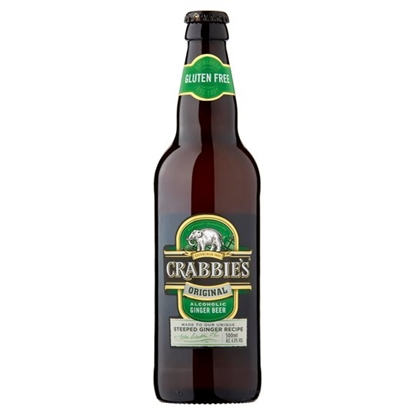 Picture of CRABBIE ALCOHOLIC GINGER BEER 500M x 12