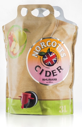 Picture of NORCOTTS RHUBARB CIDER POUCH 3Lx4