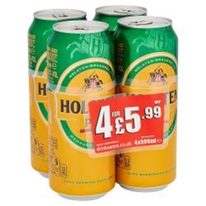 Picture of PM £5.99 HOLSTEN PILS 500ML 4PK X 6