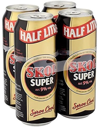 Picture of SUPER SKOL LAGER 4 PACK X 6