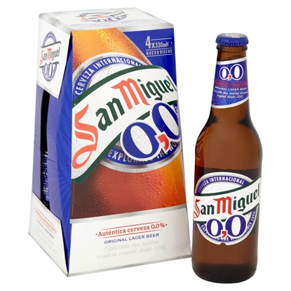 Picture of SAN MIGUEL *ALCOHOL FREE* 330ML 4PK X 6