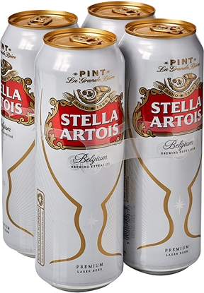 Picture of STELLA *PINT* CANS 4 PACK X 6