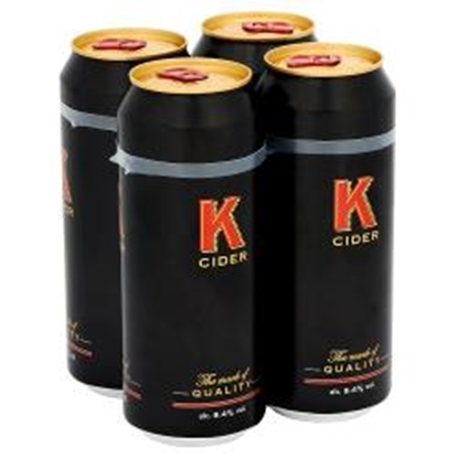 Picture of K CIDER 500MLS 4PK X 6
