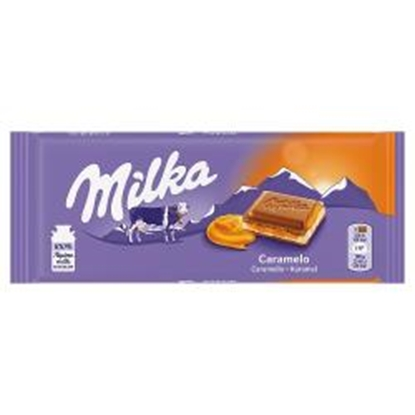 Picture of MILKA CARAMEL 100g x 23