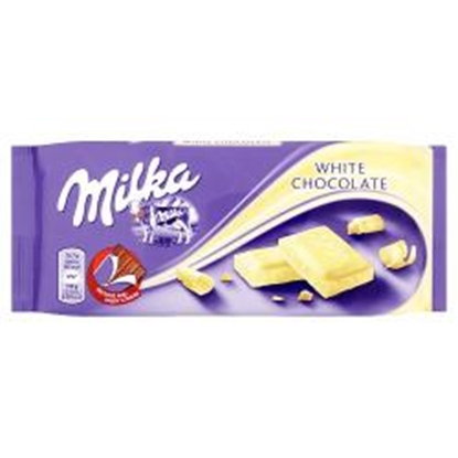 Picture of MILKA WHITE 100g x 22