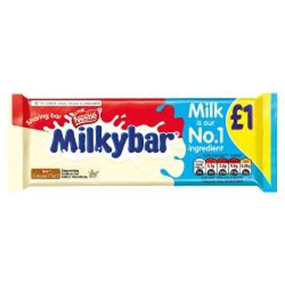 Picture of PM £1 MILKYBAR BLOCK 90G X 14