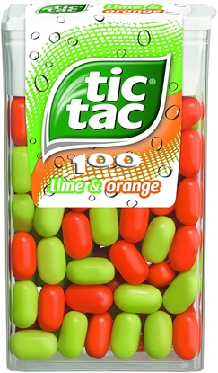 Picture of TIC TAC LIME & ORANGE X 24