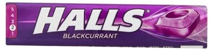 Picture of HALLS BLACKCURRANT X 20