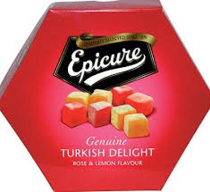 Picture of EPICURE ROSE/LEMON TURKISH DELIGHT 325Gx12