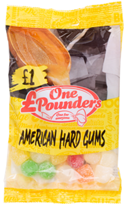 Picture of POUNDERS AMERICAN HARD GUMS X 12