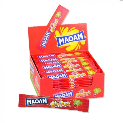 Picture of HARIBO MAOAM *GIANT* STRIPES 60 X 10P